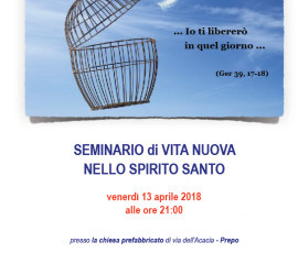 Invito seminario RnS 2018