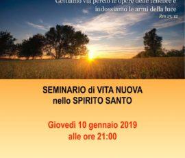 Seminario RnS 2019
