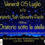 2019.07.05 Oratorio sotto le stelle