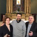 Don Antonio Paoletti con i genitori