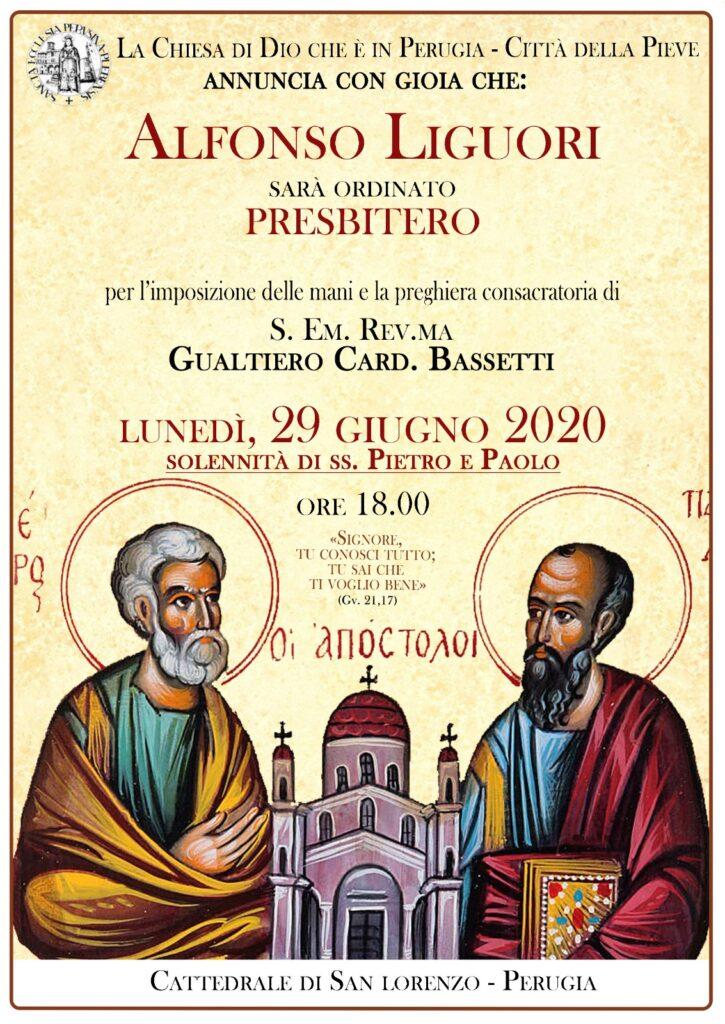 Alfonso - ordinazione 29.6.2020
