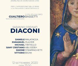 2020.09.12 diaconato Michael Tiritiello